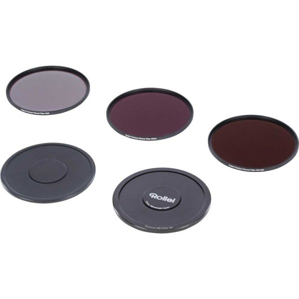 Rollei Premium ND Filter Set je 1x ND8, ND64, ND1000 Filter