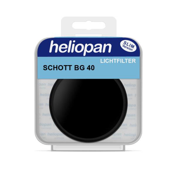Heliopan Filter 7540 | Schott BG 40