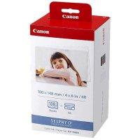 Canon KP-108IN 10x15 cm 108 Blatt Papier + Farbband