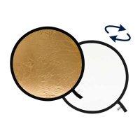 Lastolite Faltreflektor gold/weiß, rund,  Ø...
