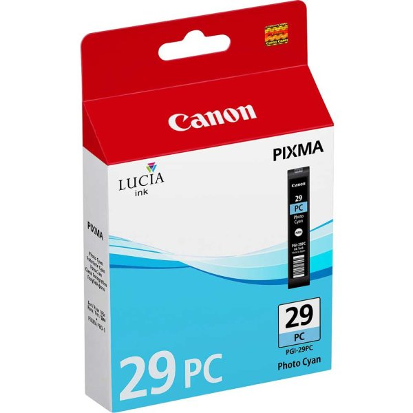Canon PGI-29PC Lucia Pigment Ink Photo Cyan 36 ml