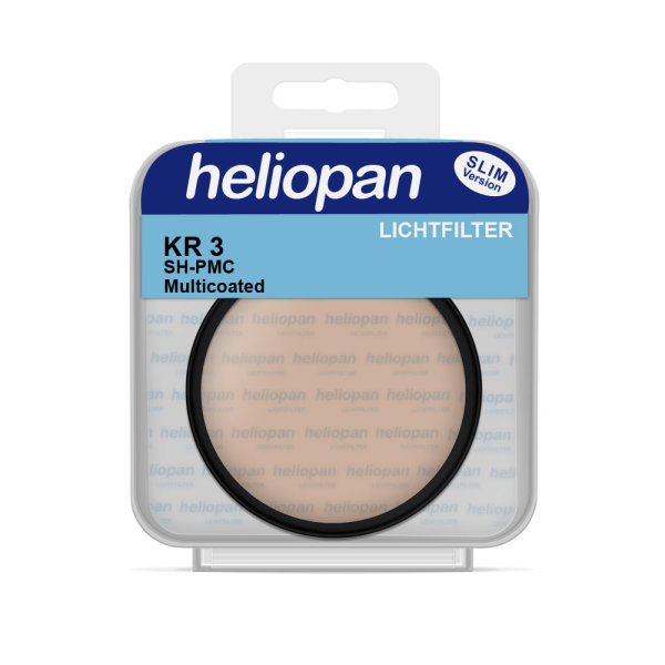 Heliopan Filter 3530 | KR3 (81B) SH-PMC