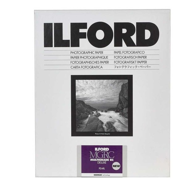 Ilford Fotopapier Multigrade RC DeLuxe 44M   pearl
