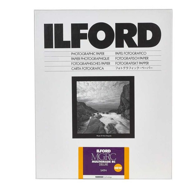 Ilford Fotopapier Multigrade RC DeLuxe 25M | satin