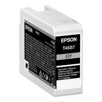 Epson Tintenpatrone T46S7 | grau 25 ml Tinte für...