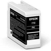 Epson Tintenpatrone T46S1 | photo black 25 ml Tinte...