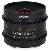 LAOWA Objektiv 9 mm T2.9 Zero-D Cine für Fuji X