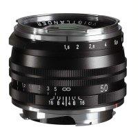 Voigtländer Objektiv Nokton 50 mm f/1,5 schwarz, VM...
