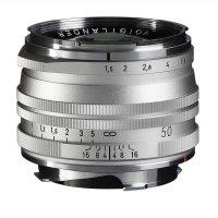 Voigtländer Objektiv Nokton 50 mm f/1,5 silber, VM...
