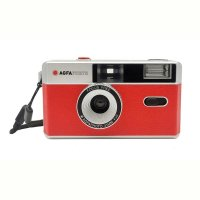 AgfaPhoto |analoge Kleinbildkamera 35 mm rot | mit...