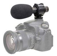 CV-04 Richtmikrofon Kondensatormikrofon zum Aufstecken