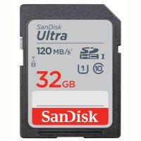 SanDisk SDHC Card Ultra | 32 GByte 120 MB/s | UHS-1 U1...