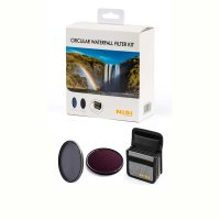 NiSi® Circular Waterfall Filter Kit Ø 72 mm | 1xTi CPL +...