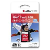AgfaPhoto SDHC Class 10 | 4 GByte High Speed UHS1...