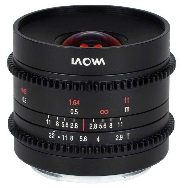 LAOWA Objektiv 9 mm T2.9 Zero-D Cine für Nikon Z-Mount