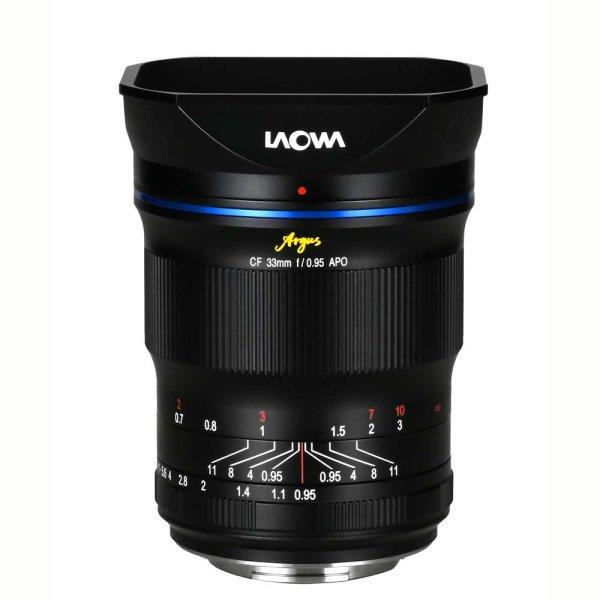 LAOWA Argus 33 mm f/0,95 CF APO für Canon EF-M (APS-C)