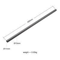 SmallRig 871 Carbon-Rods 45 cm 2-er Pack