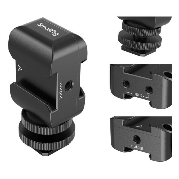 SmallRig 2996 2-in-1 Halterung für Audioempfänger von Rode Wireless Go