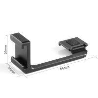 SmallRig 2342 Blitzschuh Adapter links
