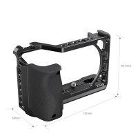 SmallRig 3164 Cage für Sony A6 Serie mit Silikon...