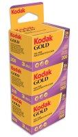 Kodak Gold 200 | Farbnegativfilm | 135/36 3er Pack