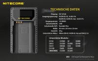 Nitecore UNK-1 Dual-Ladegerät für Nikon...