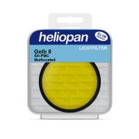 Heliopan S/W Filter 1058 gelb mittel (8) Ø 49 x...