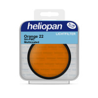 Heliopan S/W Filter 1072 orange (22) Ø 49 x 0,75 mm |...