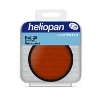 Heliopan S/W Filter 1075 rot hell (25) Ø 49 x 0,75 mm |...