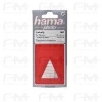 Hama Diaetiketten 35x5mm weiss