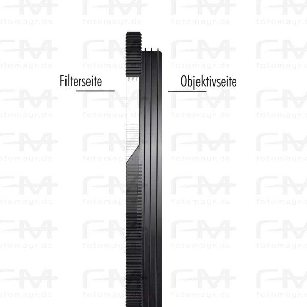 Filteradapterring Step-Down (Aluminium) Filter Ø 58 mm / Optik Ø 62 mm