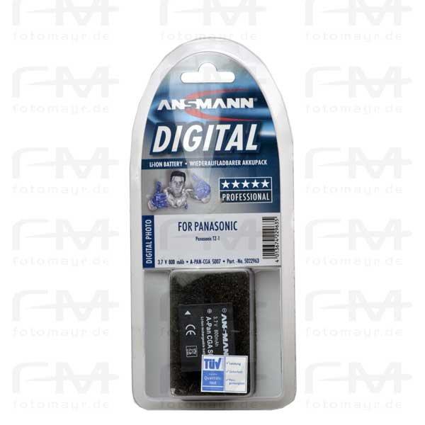 Ansmann LI-Ion Akku Typ CGA S 007 - für Panasonic