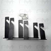 Dreifach-Haken 1 Paar aus Metall für 3x Expan