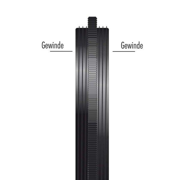 Heliopan Kupplungsring (aus Messing) Außengew 40,5x0,5 / 49 mm