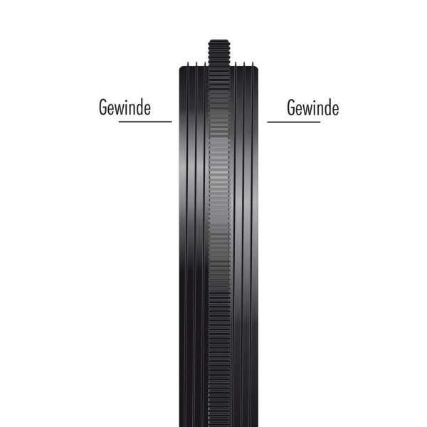 Heliopan Kupplungsring (aus Messing) Außengew. 49 mm / 52 mm