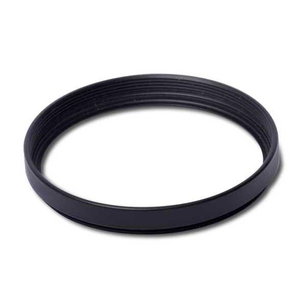 Distanzring / Leerfassung 27 x 0,5 mm Höhe ca. 5,5 mm schwarz aus Messing
