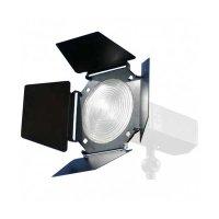 Helios Lichtklappenvorsatz mit Fresnelllinse (Fixfocus)
