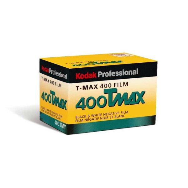 Kodak S/W Film T-MAX 400 TMY, 135/36 Kleinbildfilm (MHD 10/2021)