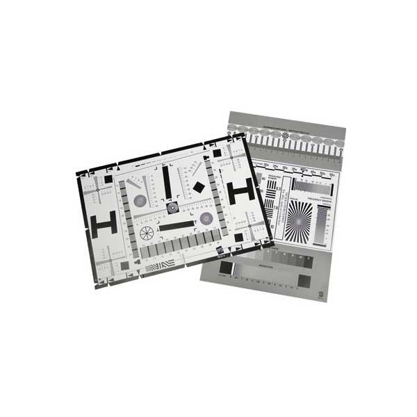 B.I.G. RES7 Testtafel für Kameras + Objektive