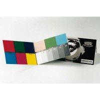 B.I.G. Farbtesttafel Klappkarte - doppeltes Postkartenformat