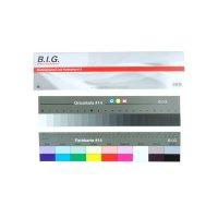 Aufsichts- Stufengraukeil und Farbkarte (#14) Länge:...