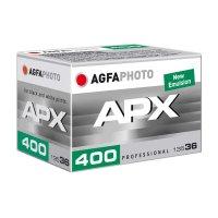 Agfaphoto S/W Film APX 400, 135/36 Kleinbildfim (MHD 7/2025)