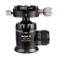 AOKA KQ33, Kugelkopf mit Friktion max. 22 kg Traglast