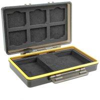 JJC BC-3SD6 Kunststoffetui für 6 SD- Karten und 2...