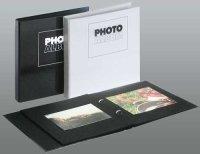 Photo Album 23x24 cm schwarz incl. 10 Blätter (max....
