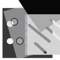 Ergänzungsblatt 36x37cm 10 Blatt weiss