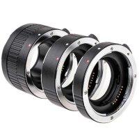 JJC Autofokus Zwischenringe für Nikon F | 12+20+36 mm