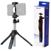 Benro BK15 Selfie Stick + Tischstativ + Bluetooth Fernb....