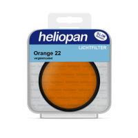 Heliopan S/W Filter 1022 orange (22) Ø 49 x 0,75...